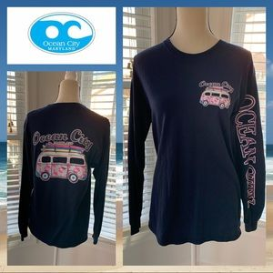 Tops - Ocean City Maryland Long Sleeve Tee